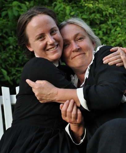 I sommar spelar vi ELLEN KEY och Ljuset på Strand och MÄRTA- gift Söderberg